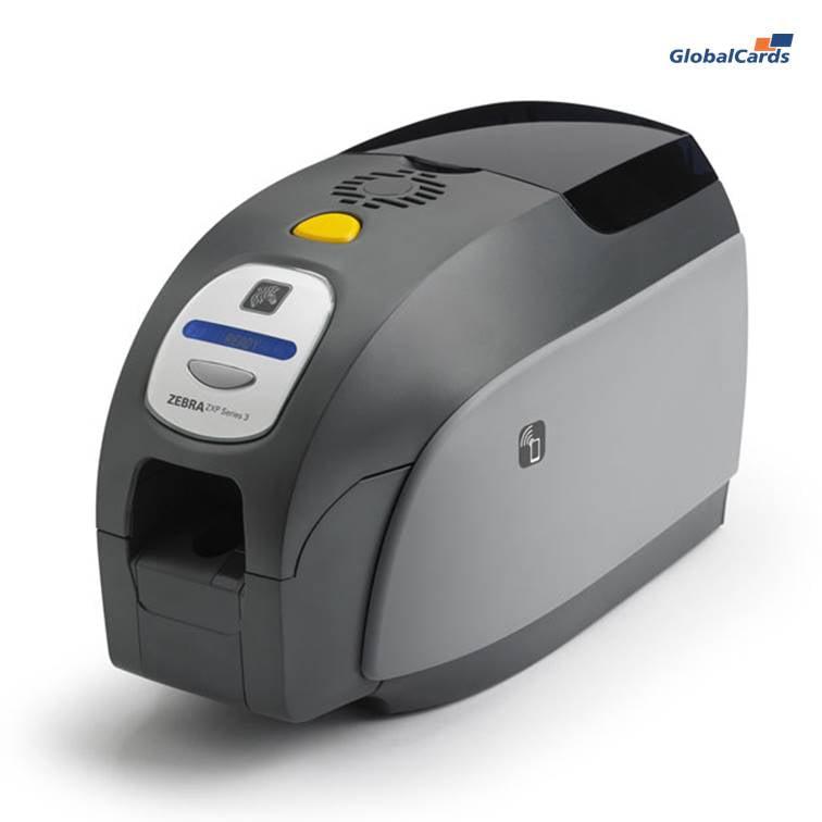 Impressora de cartão PVC Zebra ZXP3 dual
