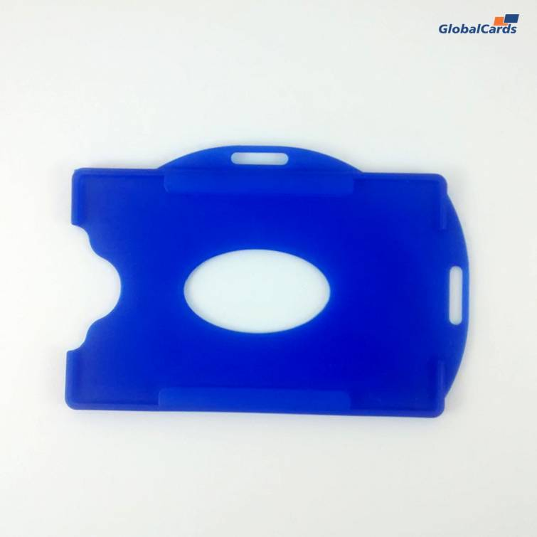Protetor Crachá Rígido Universal (100un) Azul