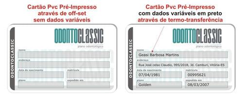 Impressão de dados Variáveis 1x0 em Preto sem Foto acima de 100 unidades