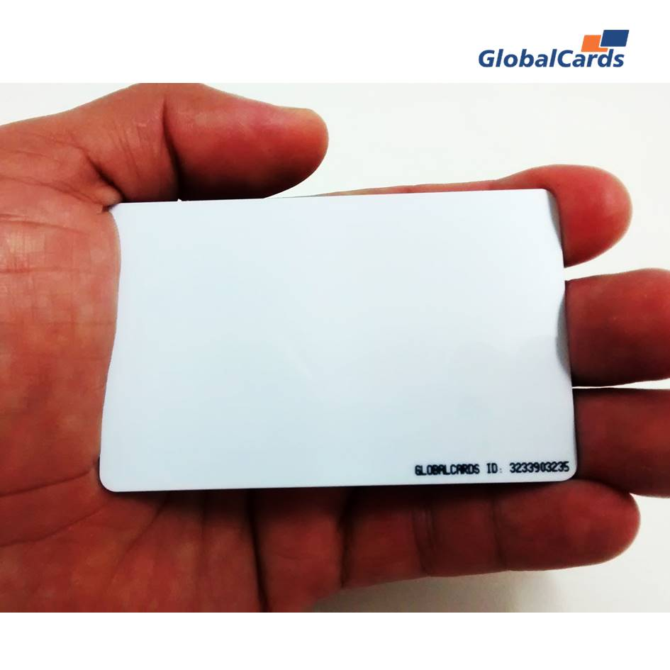 Cartão Smartcard sem contato RFID 13,56mhz MIFARE® 1Kb  Branco  (01 unidade)