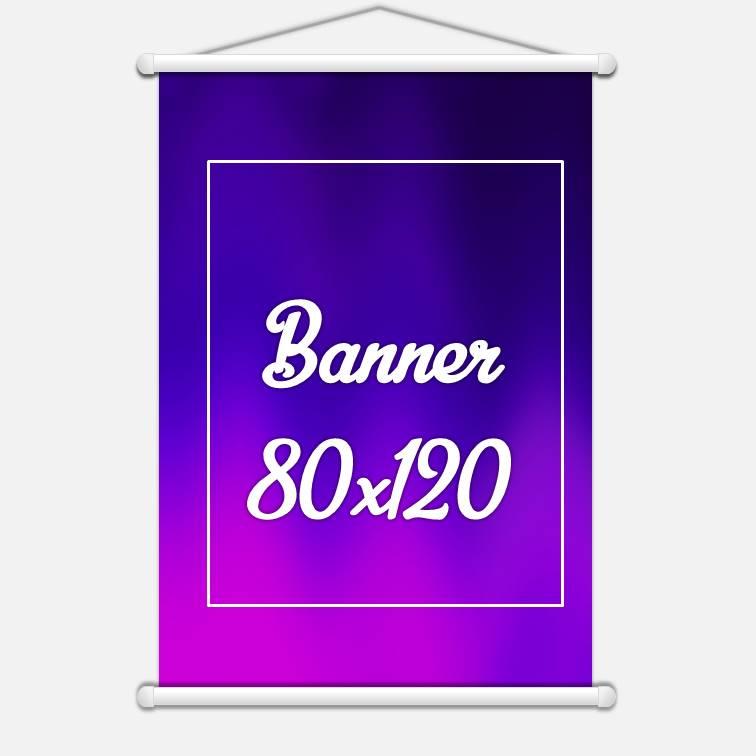 Banner Lona 280gr 20x30cm 4x0 cores