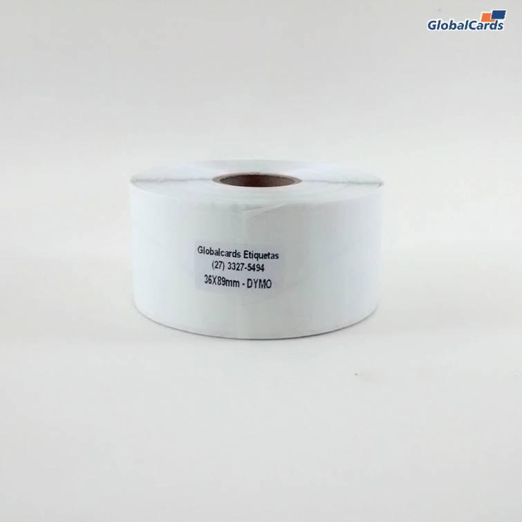 Etiqueta Termica Adesiva 36x89 1c 35m c/350 DYMO LabelWriter 30252