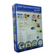 Folha de PVC PET Branco 200x300mm para impressora Jato de Tinta MPVW76D-1 formato A4 (c/ 50 jogos) - Globalcards Suprimentos