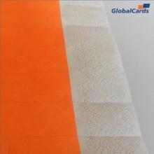 Pulseiras Identificação Event-os e Festas Tyvek Laranja Fluor/Orange (mínimo de 10)