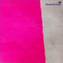 Pulseiras Identificação Eventos e Festas Tyvek Rosa Fluor/Pink personalizadas em preto (min   10)