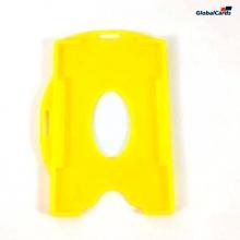 Protetor Crachá Rígido Universal Amarelo 88x57mm (100 un)