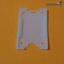 Protetor Crachá Rígido  Vertical Transparente para cartões  54x86mm   (100 un)