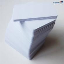 Cartão de PVC Branco 0,76mm CR-80 caixa com 100 unidades (mínimo 10 caixas)