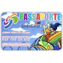 Cartão Pre Impresso PVC 0,76mm - 4x4 Cores 5000 Unidades