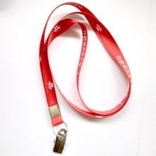 Cordão Digital 12mm para crachá c/ presilha clips jacaré (mínimo de 100)