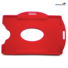 Protetor Crachá Rígido Universal Vermelho 88x57mm (1 unid)
