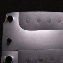 Pulseiras PVC Identificação  Pessoal Pink Prata