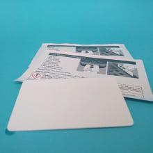 Cartão de Limpeza Curto CR80 - Thermal Printer cleaning card (c/ 10)