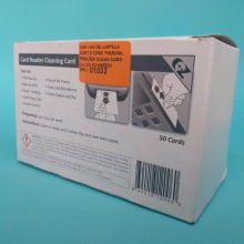 Cartão de Limpeza Curto CR80 - Thermal Printer cleaning card (c/50)