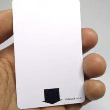 Cartão PVC Fechadura Hotel - Ecomizador de Energia Kaba 1x0cor