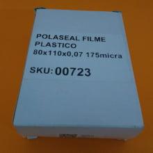 Polaseal Filme Plástico  80x110x0,07 (175micra) para RG ou PIS