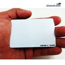 Cartão Smartcard sem contato RFID 13,56mhz  Inteligente 1Kb  Branco  (100 unidades)