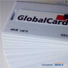 Cartão Proximidade Wave Card Clamshell compatível Indala