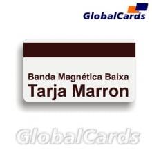 Cartão Magnético PVC c/ Tarja ou Banda Magnética de Baixa Coercividade Trilha 1,2,3