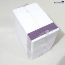 Cartão de PVC com Tarja de Proteção Roxa Vert. p/ ocultar o Código de Barras (caixa com 100 unidades)