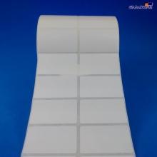 Etiqueta Adesiva Couchê 50x25mm x 2 colunas