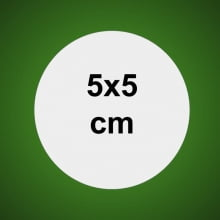 Adesivos de Papel 4x5cm 4x0 cores com 50un