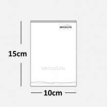 Blocos ou Comandas Sulfite 75g Preto Branco 10x15cm 1x0 cores c/ 5 blocos de 100 folhas