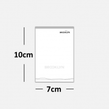 Blocos ou Comandas Sulfite 75g Preto Branco 7x10cm 1x0 cores c/ 25 blocos de 100 folhas