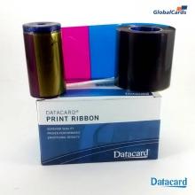 Ribbon Datacard SP35 SD260 YMCKT colorido 534000-003 subst 552854-504 c/ 500 impr