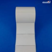 Etiqueta Adesiva Couchê 80x50mm x 1 coluna