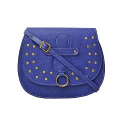 Bolsa de lado azul