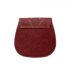 bolsa transversal pequena vermelha