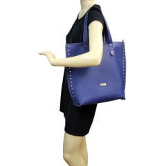 bolsa casual azul