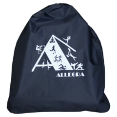 mochila saco azul