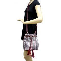 Bolsa saquinho vermelha