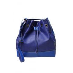 saco casual azul