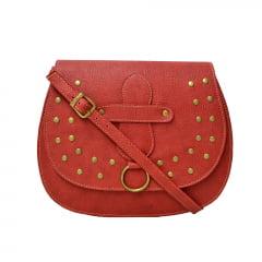 Bolsa de lado vermelha
