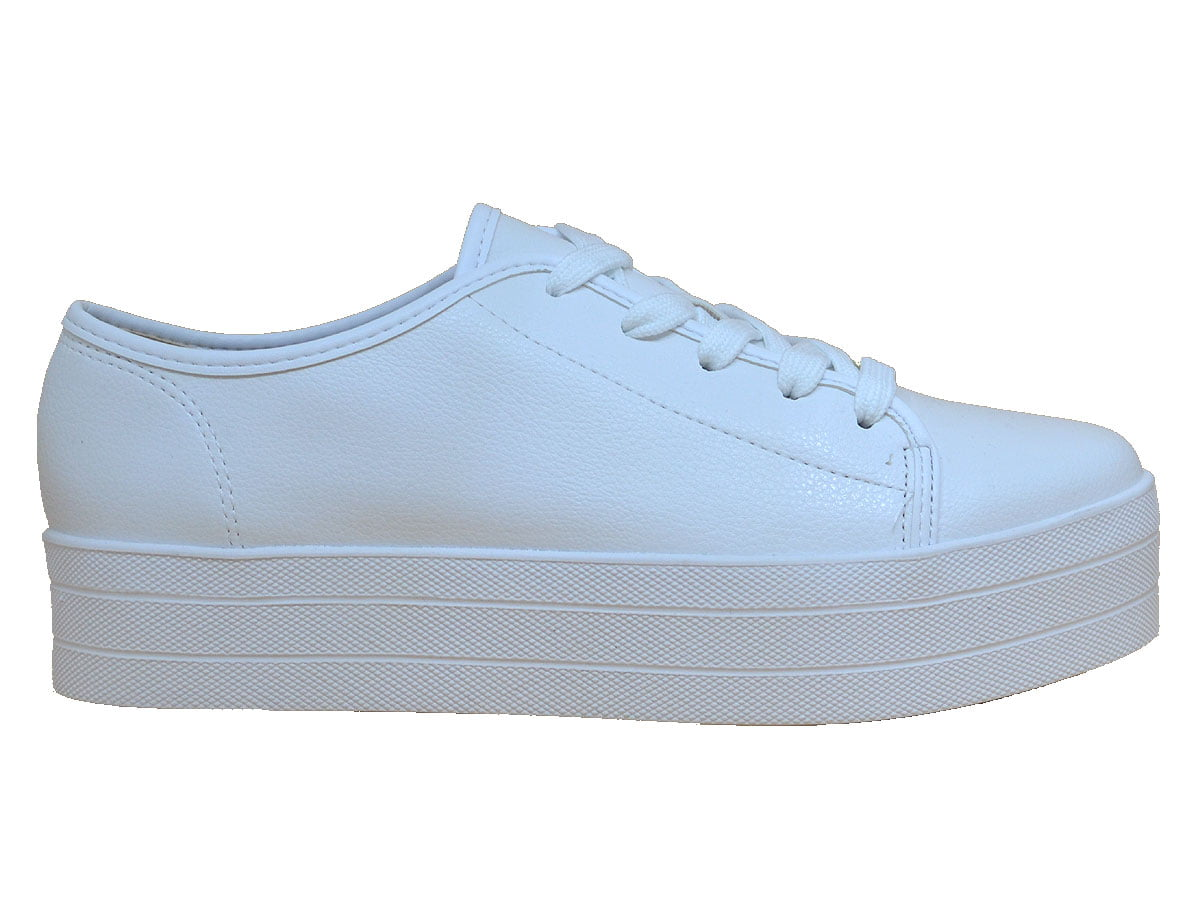 101083d25 Tênis feminino sola alta plataforma moleca loja elza calçados jpg 1200x900 Tenis  plataforma sapatos