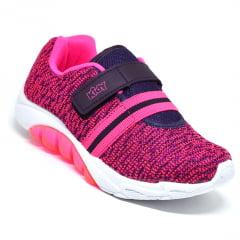 Tênis Infantil Menina Kidy Uva Pink 1681155 K6 Original