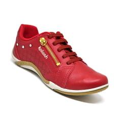 0e0a42dea8 Tênis Feminino Casual Dakota Kolosh c1282 vermelho Tênis Feminino Casual  Dakota Kolosh c1282 vermelho