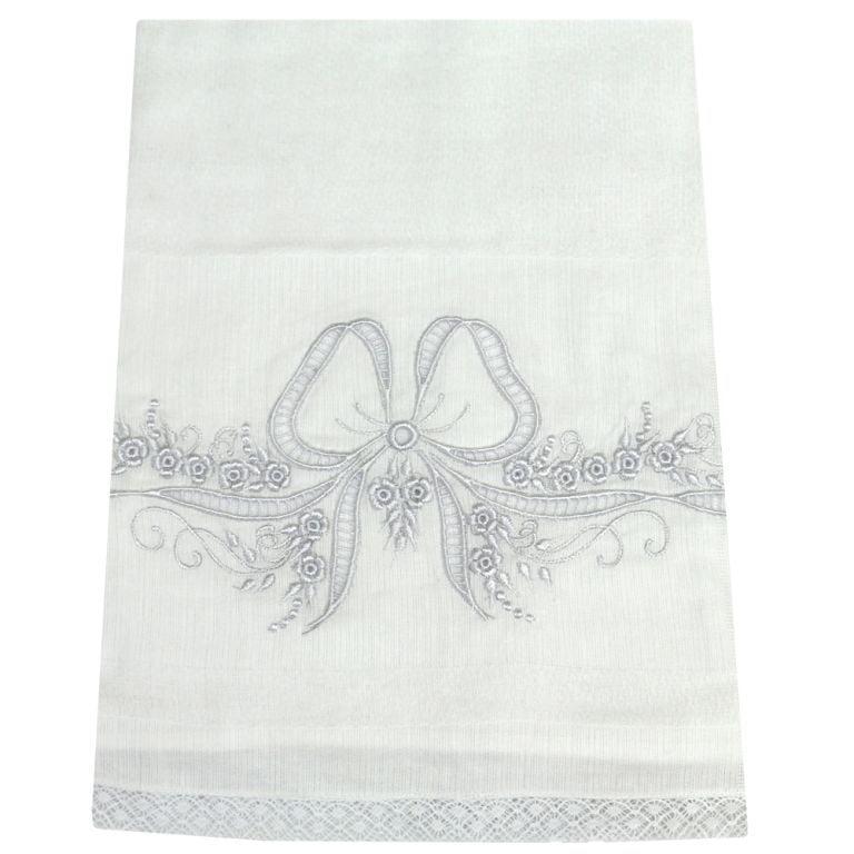 toalha fralda bordada richelieu enxoval bebê