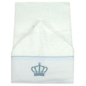 Toalha de Banho Capuz Buddemeyer Coroa Azul