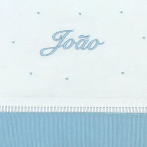 Cueiro Lençol Xixi Personalizado Azul