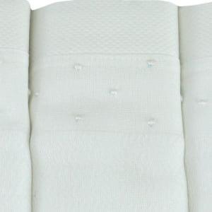 Fralda bordada poá branco (1 unid.)