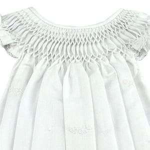 Vestido Casinha de Abelha Renda Renascença - 9 a 12 meses