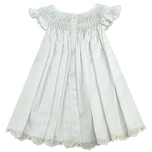 Vestido Casinha de Abelha Renda Renascença - 18 meses