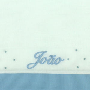 Fralda Personalizada Azul