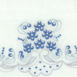 Fralda Richelieu Sonho Azul
