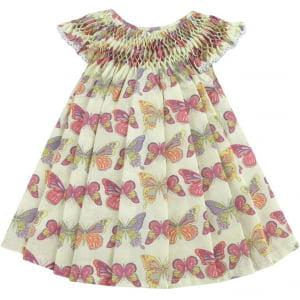 Vestido Casinha de Abelha Borboleta (12 meses)