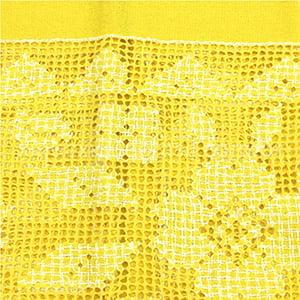 Toalha Labirinto Amarela